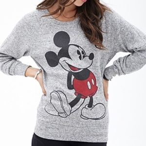 Forever 21 x Disney Marled Mickey Mouse Sweater